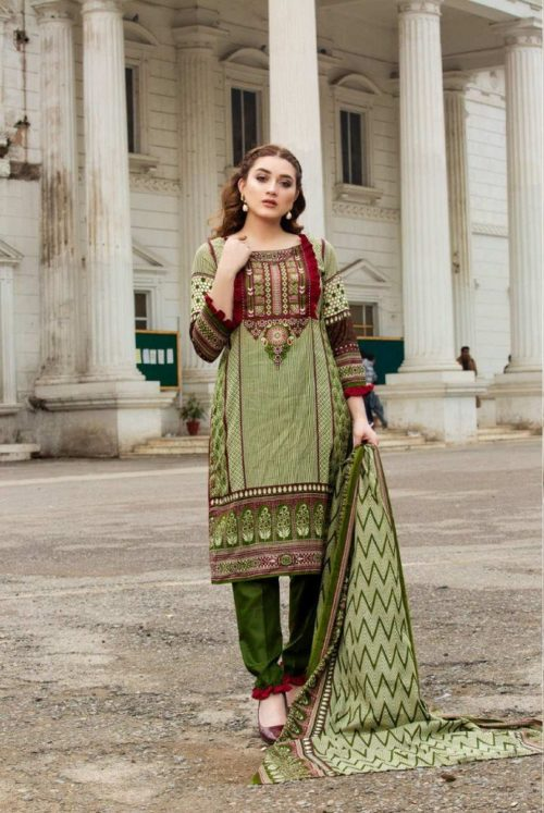 Three Star Presents Lawn Collection Vol 2 Beautiful Printed Lawn Collection Suit 14