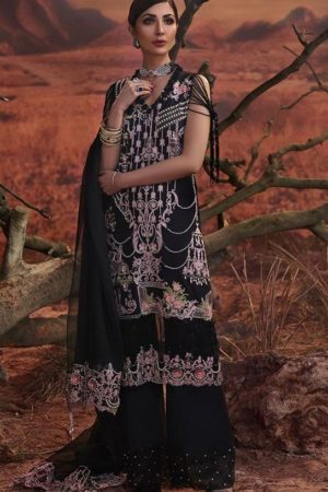 Buy Deepsy Presents Rangrasia Pure Cotton Print With Heavy Embroidery Salwaar Suits 800-307