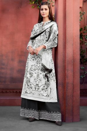 Buy Sahiba Esta Presents Mariegold Digital Printed Cotton Lawn With Mirror work Suits 106