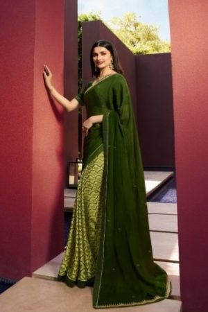 Buy Vinay Fashion Presents Sheesha Starwalk 43 Silky Georgette Elegant Sarees Collection 21039