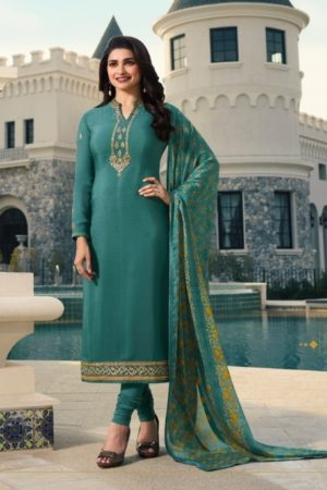 Buy Vinay Silkina Royal Crepe 24 Crepe with Embroidery Salwar Suit 9968