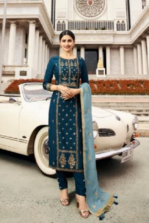 Vinay Fashion Presents Tumbaa Feelings Silk With Embroidery Work Salwaar Suits 36243