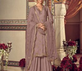 Buy Maisha Presents Riwaayat Mother Collection Rangoli Georgette/Net (Semi Stitched) With Embroidery And Work Suits 6904