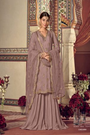Maisha Presents Riwaayat Mother Collection Rangoli Georgette Net (Semi Stitched) With Embroidery And Work Suit 6904