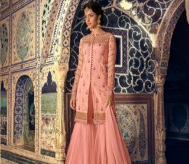 Buy Maisha Presents Riwaayat Mother Collection Rangoli Georgette/Net (Semi Stitched) With Embroidery And Work Suits 6907