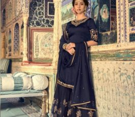 Buy Maisha Presents Riwaayat Mother Collection Rangoli Georgette/Net (Semi Stitched) With Embroidery And Work Suits 6906