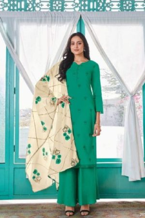 Omtex Presents Gardenia Lawn Cotton Salwaar Kameez 703 (2)