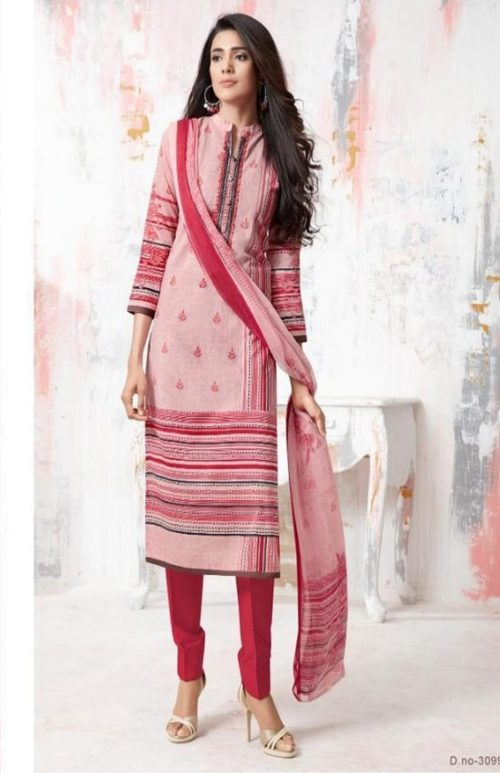 PRM Trendz Presents Moon Sign Pure Cotton Lawn Digital Printing With Embroidery Work Salwaar Suit 3099