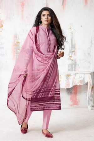 PRM Trendz Presents Moon Sign Pure Cotton Lawn Digital Printing With Embroidery Work Salwaar Suits 3105