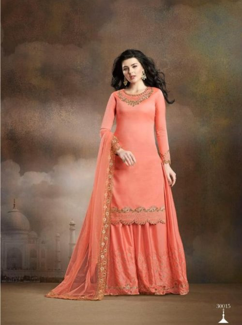 Rama Fashion Presents Raazi Taj Collection Soft Silk With Embroidery And Work Salwaar Suit 30015