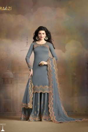 Rama Fashion Presents Raazi Taj Collection Soft Silk With Embroidery And Work Salwaar Suits 30012