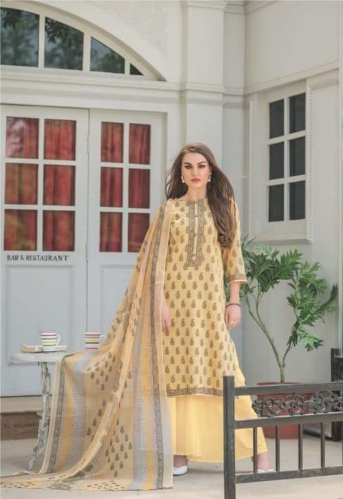 Rivaa Presents Samaira 3 Pure Cotton Printed Salwar Kameez 897 A