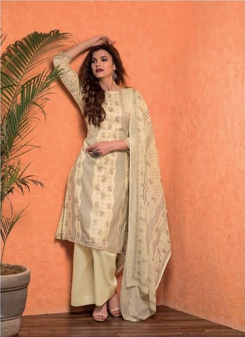 Rivaa Presents Trishila Cotton Printed Salwaar Suit 1452 B