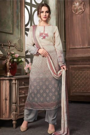 SRI Presents Astonished Fine Cotton Silk With Hand Work Salwaar Suits 1057