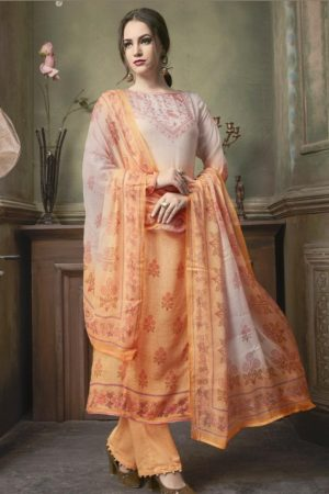 SRI Presents Astonished Fine Cotton Silk With Hand Work Salwaar Suits 1059