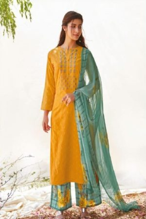 Sahiba Sarg Presents Fleurs Cotton Butta With Embroidery Salwaar Suits 989