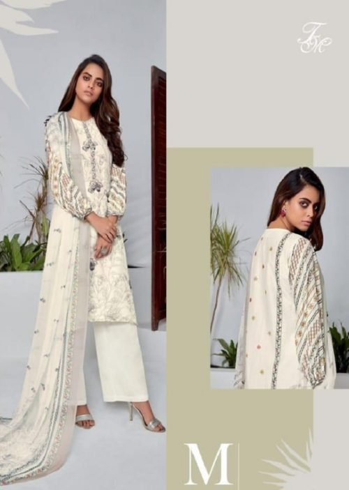T&M Presents Illume Pure Fancy Digital Print With Hand Work Salwaar Suit M 355