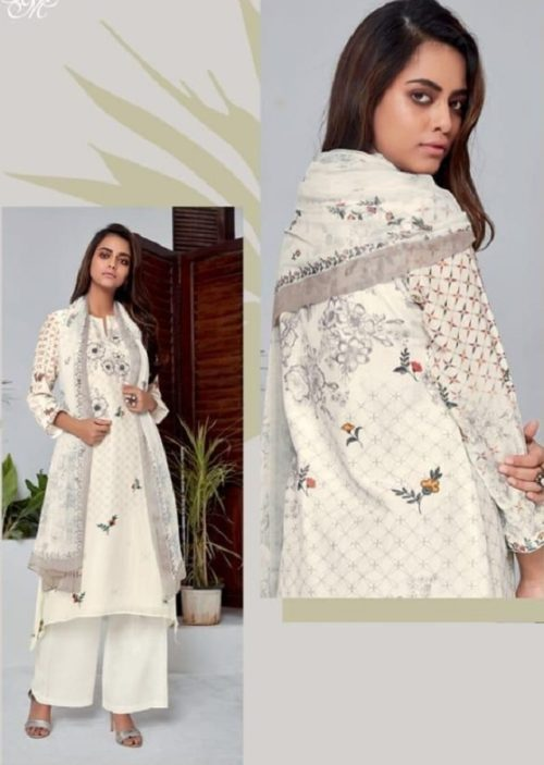 T&M Presents Illume Pure Fancy Digital Print With Hand Work Salwaar Suits M 319