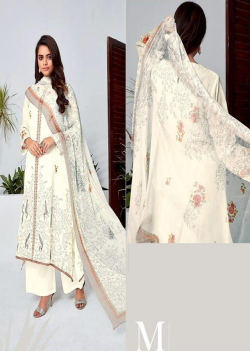 T&M Presents Illume Pure Fancy Digital Print With Hand Work Salwaar Suits M 329