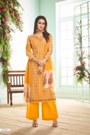 Volono Trendz Presents Aleena Vol 1 Jaam Satin With Embroidery Work Suits 1006