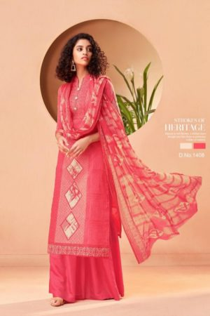 Ankit Textile Presents Shalvika Cambric Cotton Printed Salwar Suits 1408