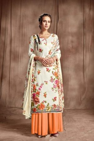 Belliza Designer Studio Presents Amber Pure Premium Cotton Digital Print Salwar Suit 265-002