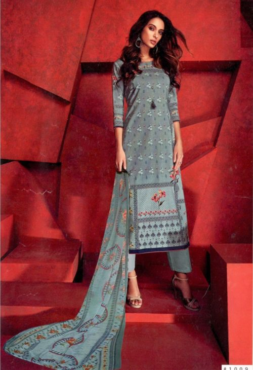 Karachi Prints Presents Feel The Summer Pure Lawn Cotton Suit 1009