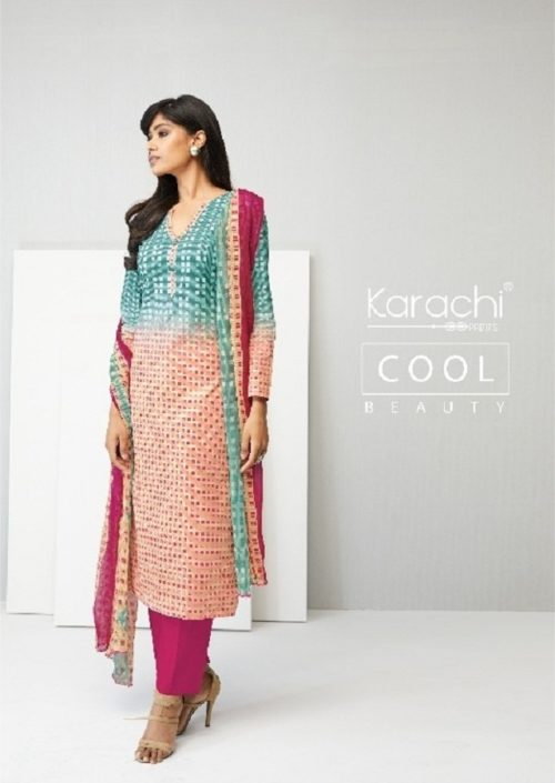 Karachi Prints Summer Era Cotton Suits 07