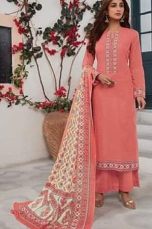 Sahiba Sudrit Presents Whimsical Cotton Satin With Cambric Digital Print salwar suits 390