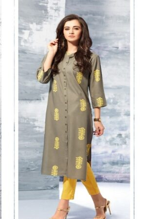 The Zest in You Sheena Summer Designer Kurti's 1003