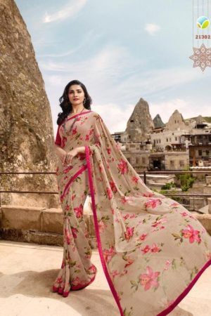 Vinay Fashon Saree Presents Sheesha Starwalk 44 Georgette Saree 21302