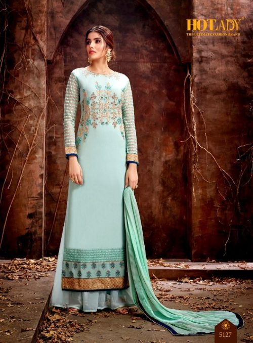 Buy Hotlady Mishti Georgette with exclusive work Designer Suit 5127