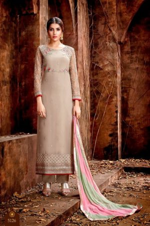 Buy Hotlady Mishti Georgette with exclusive work Designer Suits 5126