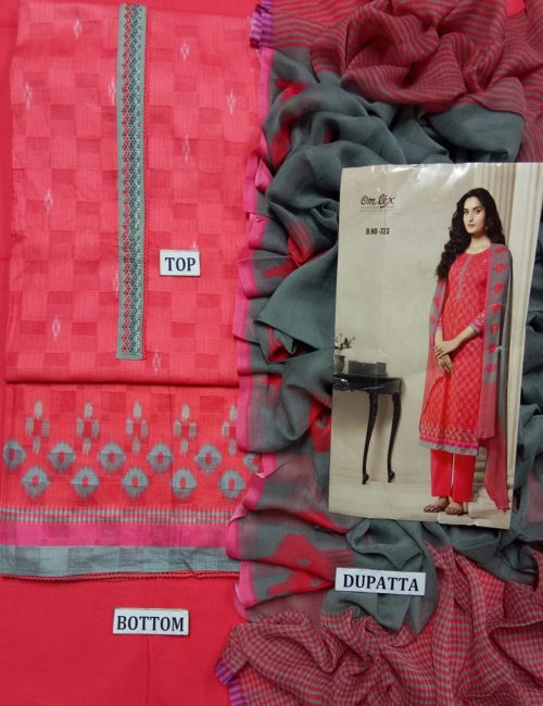 Buy Omtex Aalya Super Fine Digital Print With Embroidery and Handwork Suit 723