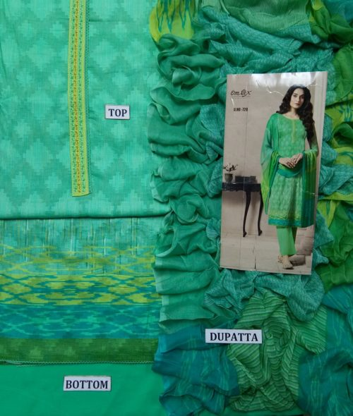 Buy Omtex Aalya Super Fine Digital Print With Embroidery and Handwork Suit 728