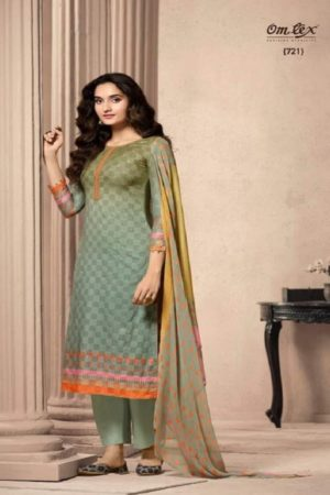 Buy Omtex Aalya Super Fine Digital Print With Embroidery and Handwork Suits 721