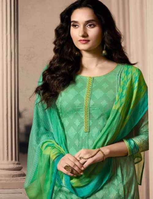Buy Omtex Aalya Super Fine Digital Print With Embroidery and Handwork Suits 728