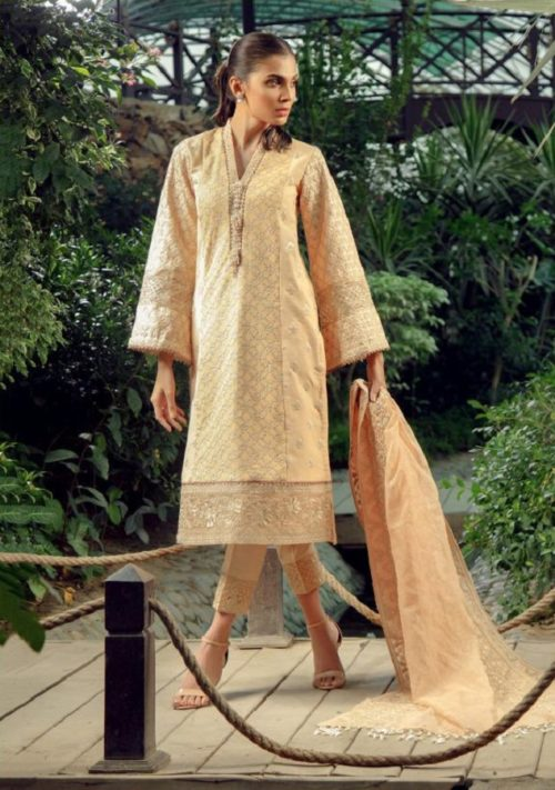 Deepsy Suits Presents Zarquash Pure Cotton With Heavy Embroidery Salwar Suit 014