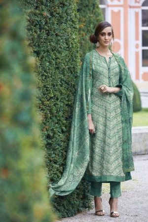 Sahiba Presents Dhara Cotton Satin With Heavy Embroidery Work Suit 04