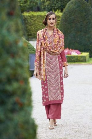 Sahiba Presents Dhara Cotton Satin With Heavy Embroidery Work Suit 05