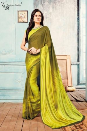 Sahiba T&M Presents Aadhaya Fabric Pure Silk Digital Print Designer Sarees 20