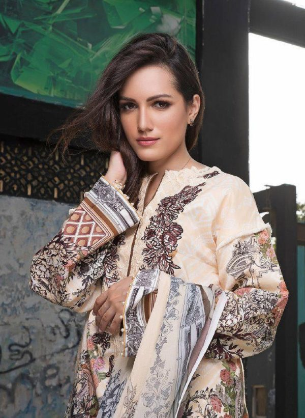 Shree Fabs Presents Firdous Exclusive Collection vol 2 Pure Cotton Print With Embroidery Suits 6162