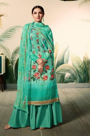 Amirah Presents Lakhnam Georgette With Lakhnam Work and Digital Print Salwar Suits 12043