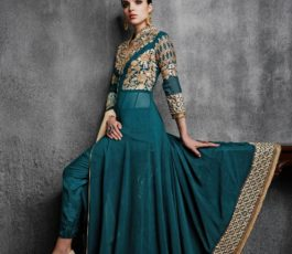 Arihant Designer Presents Hamim Vol 4 NX Georgette With Heavy Embroidery Semi-Stitched Gown 11003-A