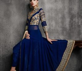 Arihant Designer Presents Hamim Vol 4 NX Georgette With Heavy Embroidery Semi-Stitched Gown 11003-B