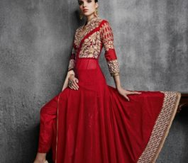 Arihant Designer Presents Hamim Vol 4 NX Georgette With Heavy Embroidery Semi-Stitched Gown 11003-C