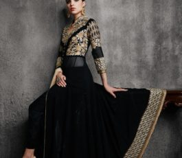Arihant Designer Presents Hamim Vol 4 NX Georgette With Heavy Embroidery Semi-Stitched Gown 11003-E