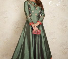 Arihant NX Presents Amorina Vol 3 Masleen Silk With Embroidery and Work Gown 22014