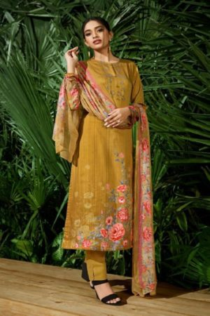 Buy Sahiba Sudriti Suri Cotton Satin Digital Print With Embroidery Salwar Suit 103