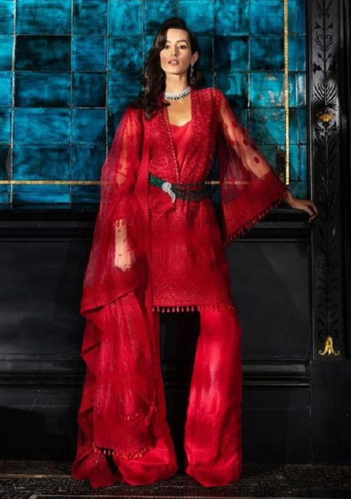 Buy Shraddha Designer Sobia Nazir vol 2 Heavy Butterfly Net With Heavy Embroidery Salwar Suit 2002